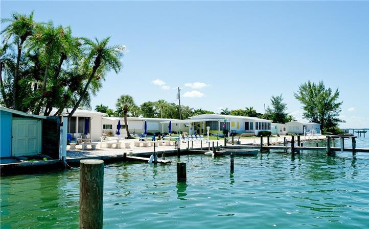 cortezwater front with dock